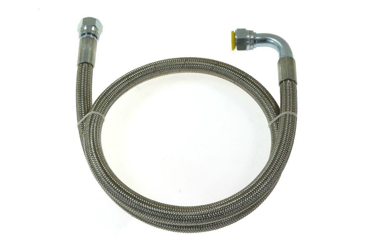 Przewód olejowy 90cm AN8 - GRUBYGARAGE - Sklep Tuningowy